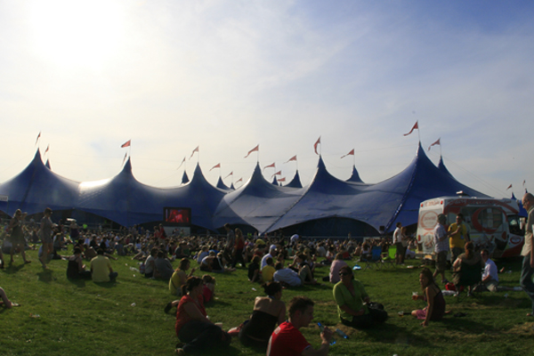 Radio 1's Big Weekend in 2008