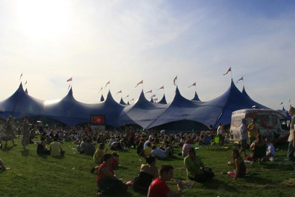 Radio 1's Big Weekend in 2008