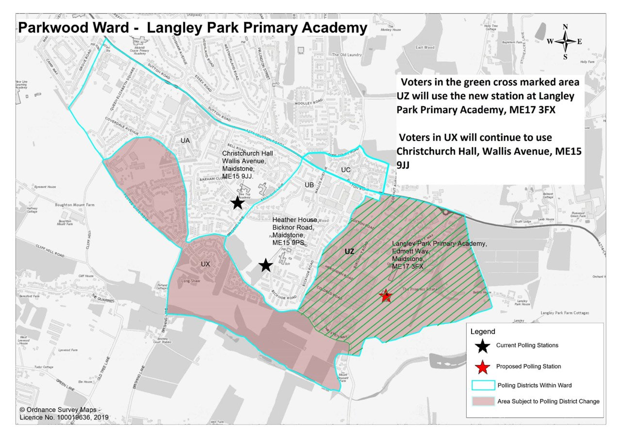 Parkwood Ward Map