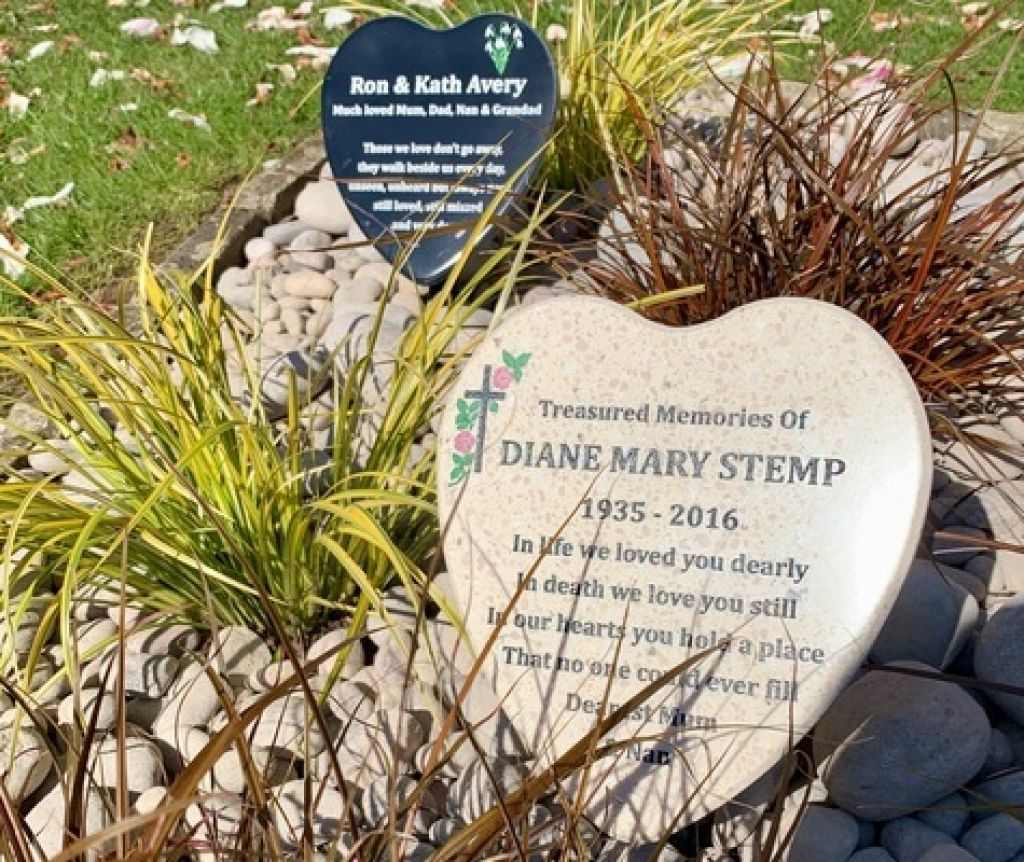 Heart Memorial Plaque