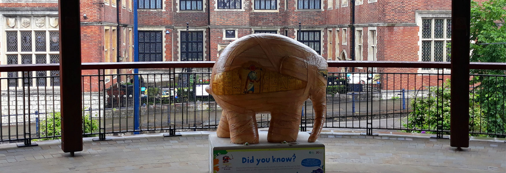 Model of Elmer in Maidstone