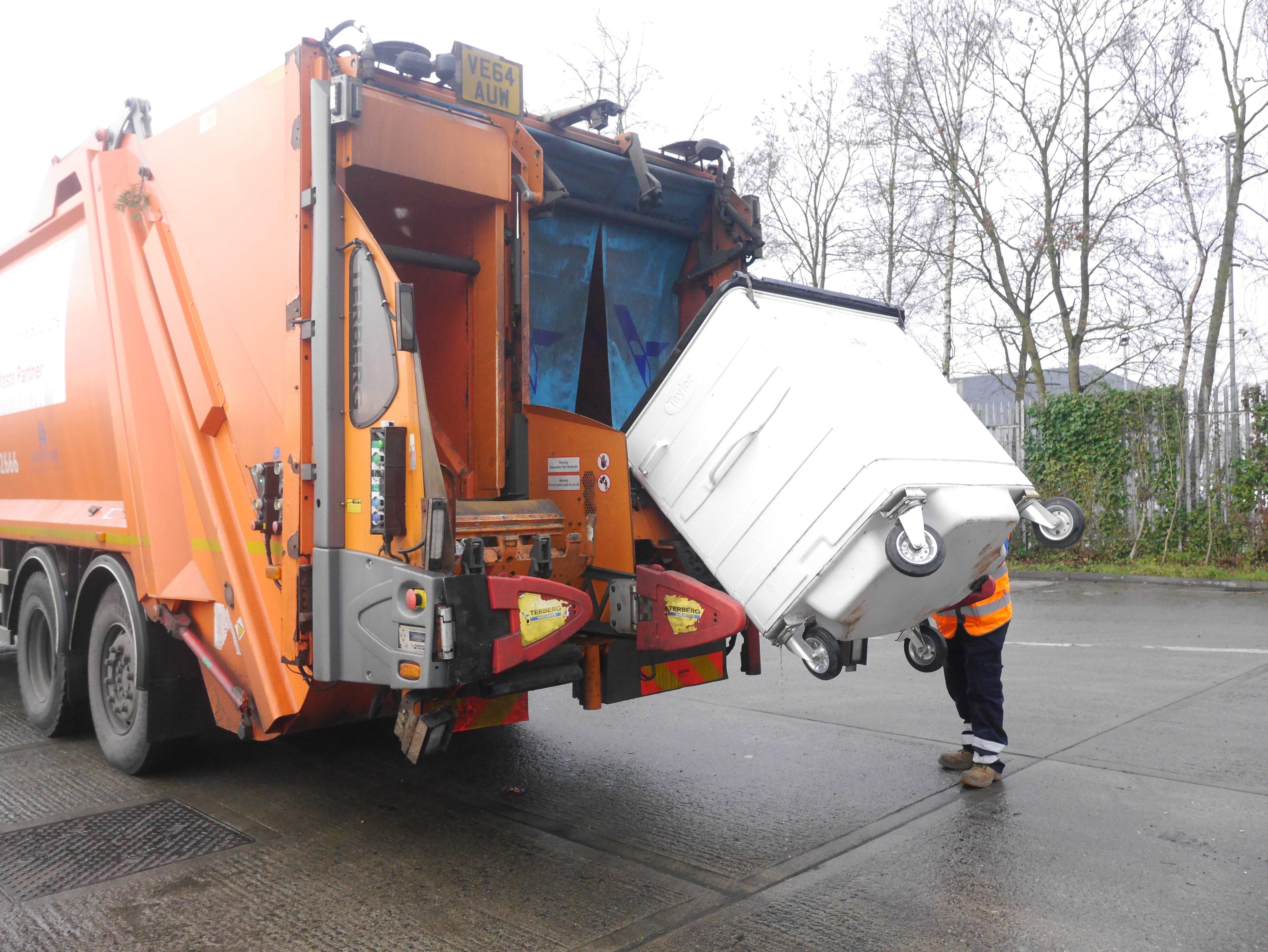 Image of Truck Loading Bins
