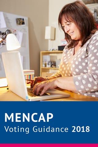 Mencap Voting Guidance Image