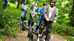 Image of people riding segway