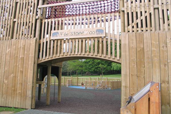 Maidstone Zoo Play Area