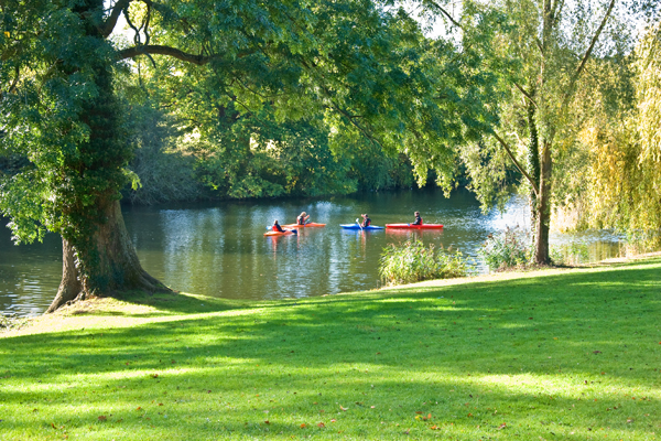 Kayaking with the Water Sports Centre